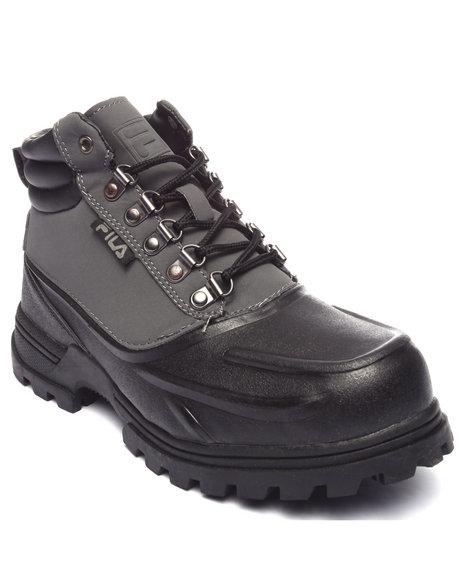 Fila - Men Black,Grey Weathertec Boot
