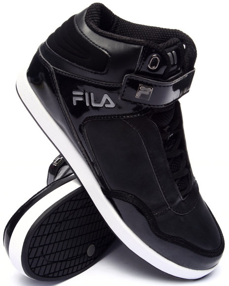 Fila - Men Black Displace 2 High Top Sneaker