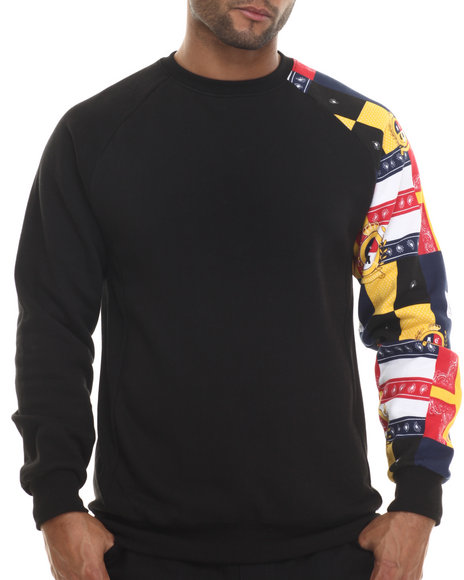 Crooks & Castles - Men Black Valor Sweatshirt