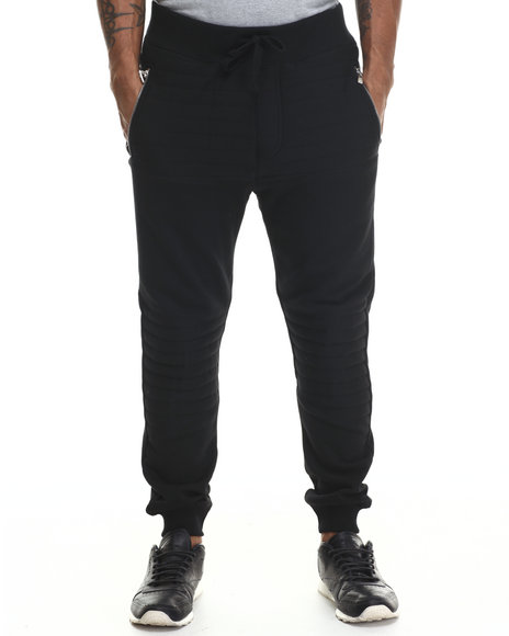 Buyers Picks - Men Black Futurama Ribbed Joggers