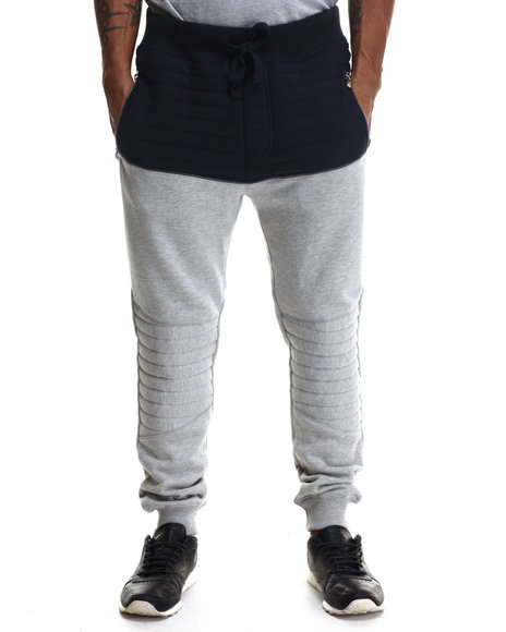 Buyers Picks - Men Grey Futurama Ribbed Joggers