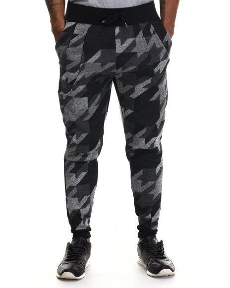 Buyers Picks - Men Black Special Print Jogger Pants - $45.00
