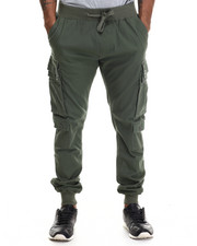 Pants - Twill Jogger cargo pants