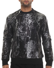 Buyers Picks - Snake Skin Neoprene Crewneck sweatshirt