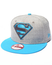 New Era - Superman Hero Heather Pop Snapback Hat