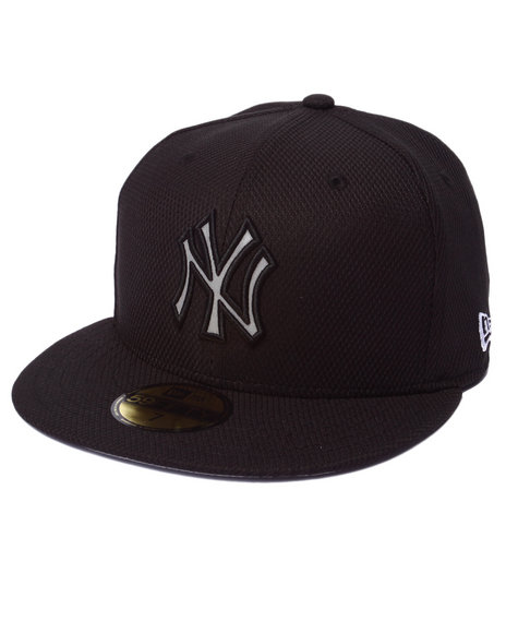 New Era - Men Black New York Yankees De Reflect 5950 Fitted Hat