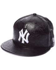 New Era - New York Yankees Leather Floral 5950 fitted hat