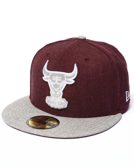 New Era Maroon Hats