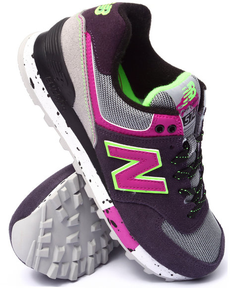 New Balance - Women Purple 574 90'S Outdoor