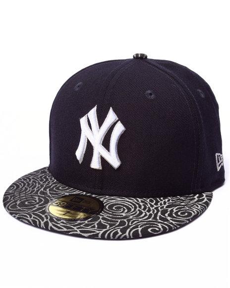 New Era - Men Black Visor Culture 5950 Fitted Hat
