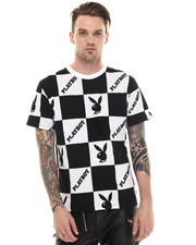Shirts - Playboy Checkered Tee