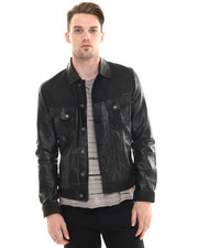 Jackets & Coats - Perry Leather & Crust Jacket