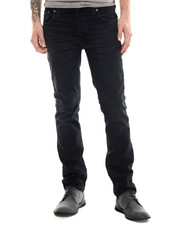 Straight - Thin Finn Black Dust Jeans