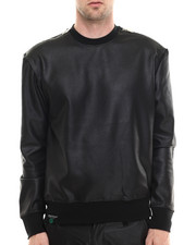 Buyers Picks - Reptile Neoprene Zip detail crewneck sweatshirt