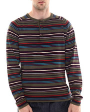 Sweaters - Voyager Henley Sweater