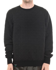 Buyers Picks - Hounds Tooth Embosed Crewneck sweatshirt