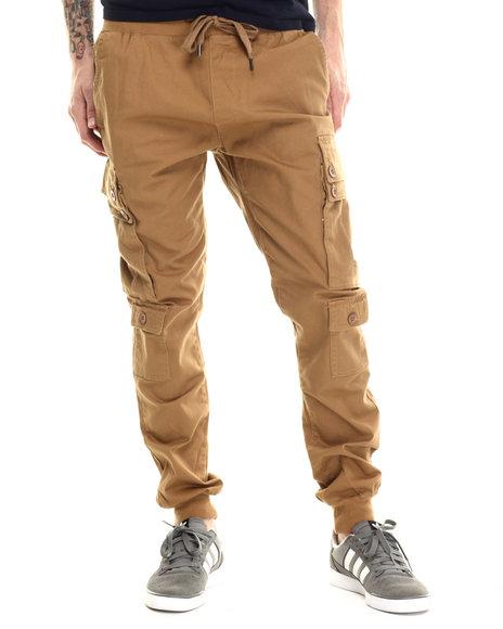 Buyers Picks - Men Khaki Twill Jogger Cargo Pants