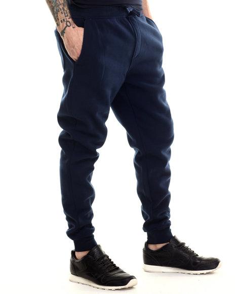 Buyers Picks - Men Navy Classic Fleece Jogger Pants - $25.00