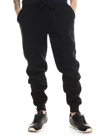 Buyers Picks - Men Black Classic Fleece Jogger Pants - $25.00