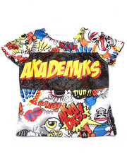 Akademiks - ALL OVER COMIC PRINT TEE (INFANT)