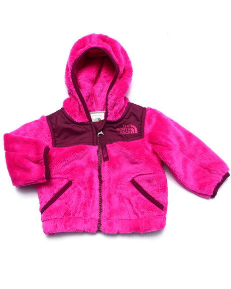 The North Face - Girls Pink Oso Hoodie (Infant)