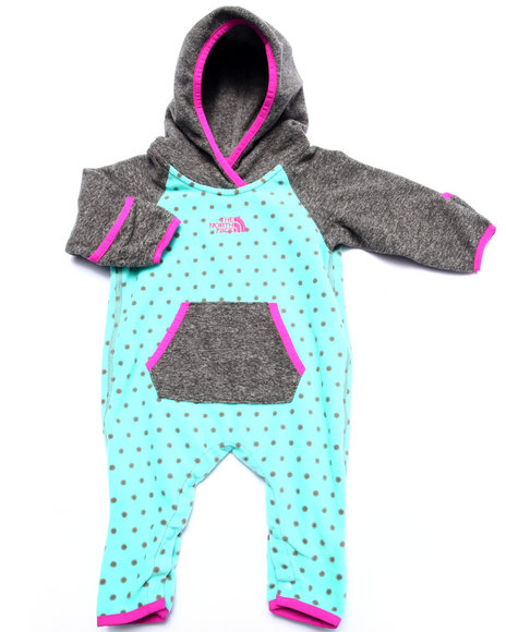 The North Face - Girls Teal Glacier One Piece (Infant)