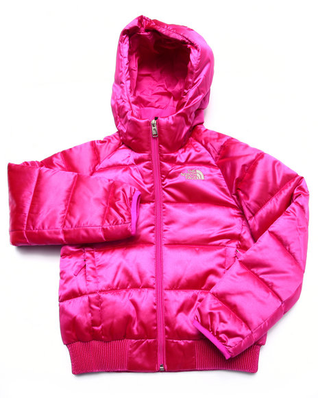 The North Face - Girls Pink Hey Momma Bomba Jacket (5-18)