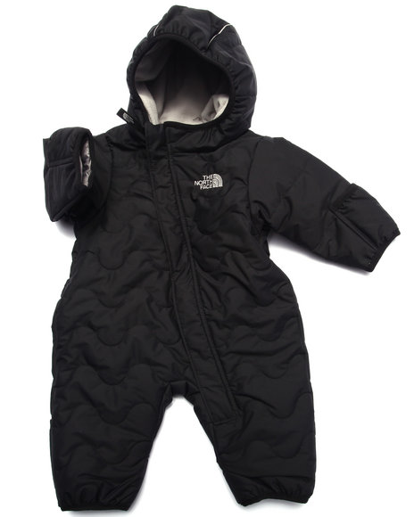 The North Face - Boys Black Toasty Toes Bunting (Infant)