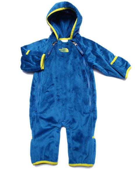 The North Face - Boys Blue Buttery Fleece Bunting (Infant)