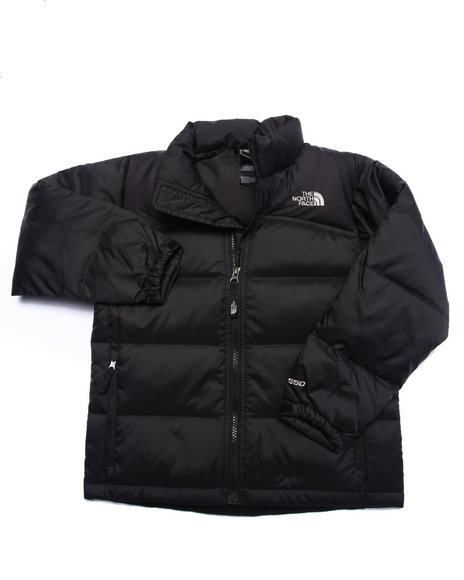 The North Face - Boys Black Nuptse Ii Jacket-(5-20)