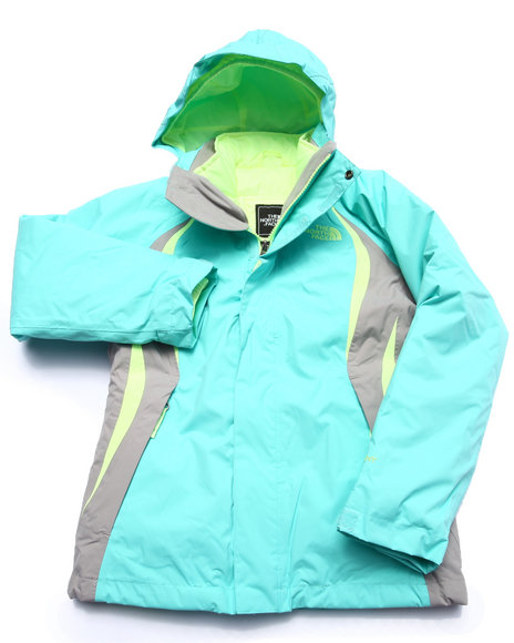 The North Face - Girls Teal Kira 2.0 Triclimate Jacket (5-18)