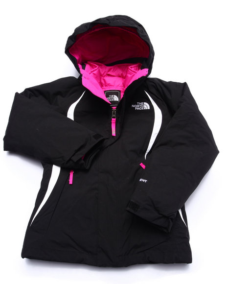 The North Face - Girls Black Kira 2.0 Triclimate Jacket (5-18)