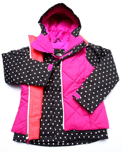 The North Face - Girls Pink Vestamatic Triclimate Jacket (5-18)