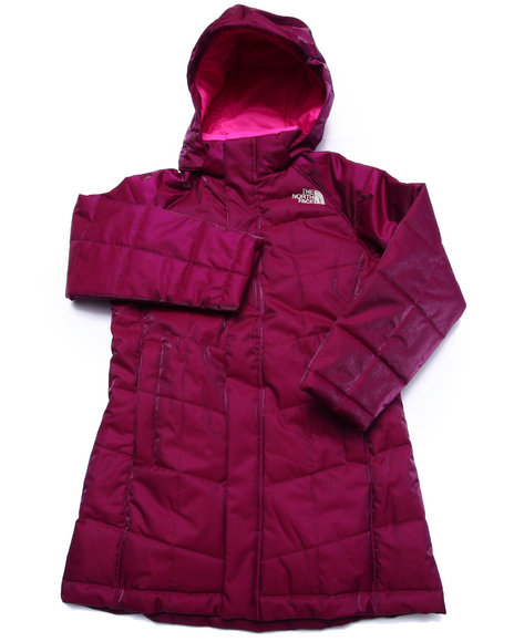 The North Face - Girls Purple Metropolis Jacket (5-18)