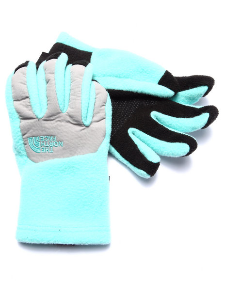 The North Face - Girls Teal Denali Etip Glove