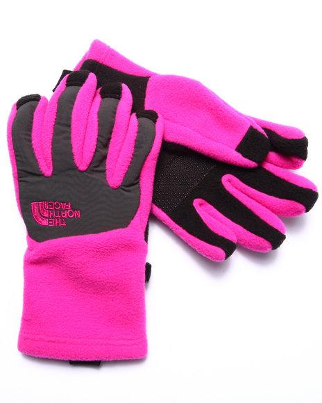 The North Face - Girls Pink Denali Etip Glove