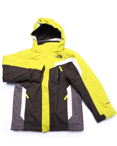 The North Face - Boys Yellow Boundary Triclimate Jacket