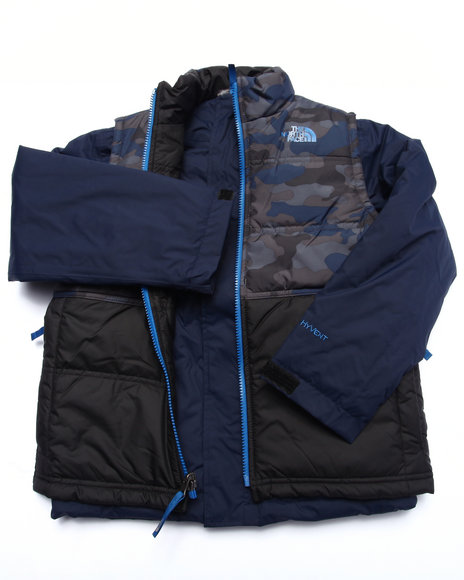 The North Face - Boys Navy Vestamatic Triclimate Jacket (5-20)