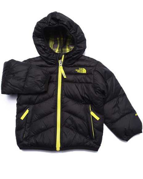 The North Face - Boys Black Reversible Moondoggy Jacket (2T-4T)