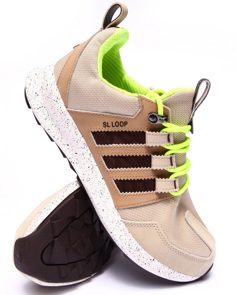 Adidas - Men Khaki Sl Loop Trail Sneakers