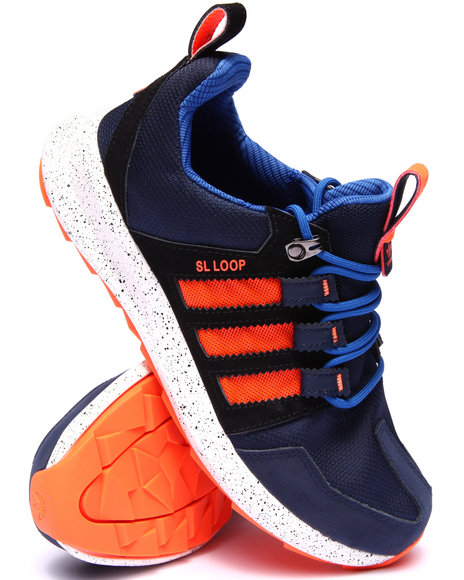 Adidas - Men Navy Sl Loop Trail Sneakers