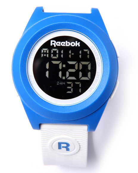 Reebok Men Di-R Block Party Large 44Mm Watch White