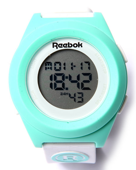 Reebok Women Di-R Block Party 40Mm Watch White
