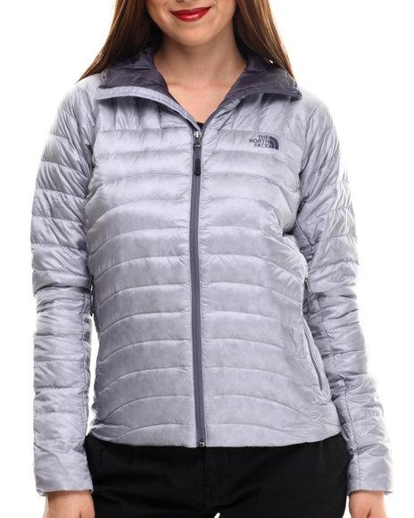 The North Face - Women Grey Tonnerro Jacket