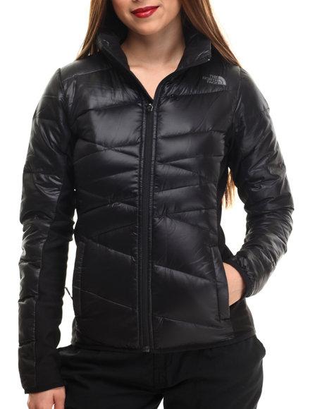 The North Face - Women Black Hyline Hybrid Down Jacket