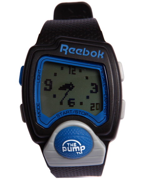 Reebok Men Pump 42Mm Pu Strap Watch Blue