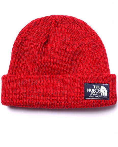 The North Face Red Beanie