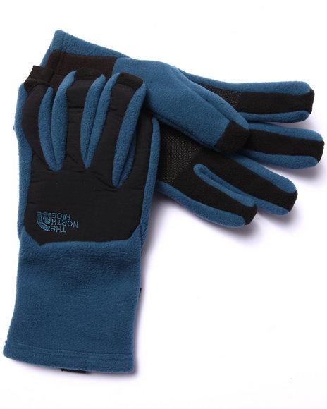 The North Face - Men Blue Denali Etip Gloves