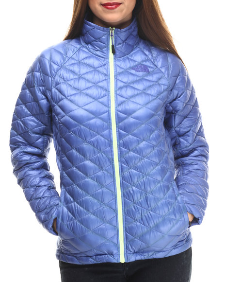 The North Face - Women Blue Thermoball Full Zip Jacket - $199.00