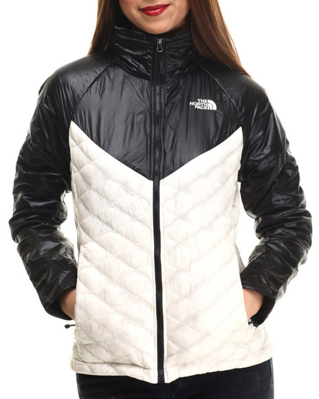 The North Face - Women Off White,Black Thermoball Remix Jacket
